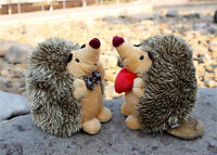 """7"""" 1 Pair Howie Hedgehog Plush Toys Kids Stuffed Animal Toy Doll Soft Toy Gift A"""