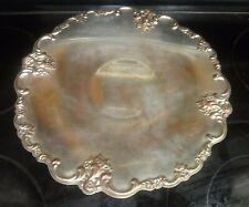 International Silver Company Ornate Trim With Rose Accents Platter Moving Sale