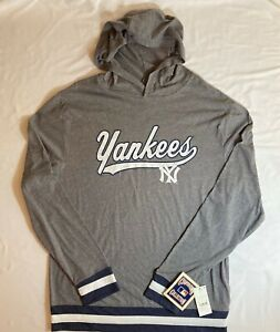 New York Yankees Men's Cooperstown Light Weight Hoodie, Large, X-Large, 2XL