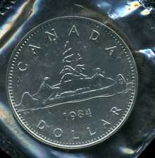 CANADA 1 dollar  ( FDC  sous protection )