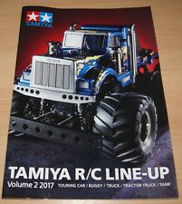 Tamiya 64410 R/C Line-Up Volume 2 2017 (English/RC), NEW