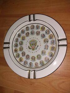 "Vintage Chadwick Miller 1966 Presidential Ashtray 7.5"""