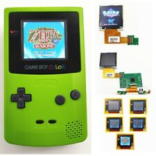 NEW Refurbished Game Boy Color GBC Console With Backlight Back Light LCD - Green