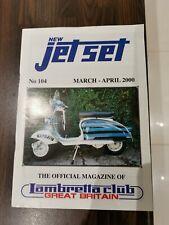 Lambretta JetSet magazine issue 104 March April 2000