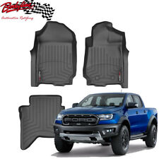 Ford Raptor 2018on WeatherTech 3D Floor Mats FloorLiner Carpet Protection
