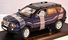 BMW X5 E53 1999-2003 bleu bleu métallisé 1:18 Anson
