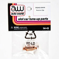 Auto World 4Gear Chassis Tuneup Parts Retainer Clip Ho Slot Car
