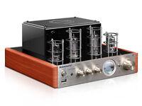 New MS-10DMKII Bluetooth Tube Amplifier USB HiFi Home Audio Amplifier 220V
