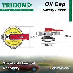 Tridon Safety Lever Radiator Cap for Nissan Patrol G60 MQ Prairie Skyline Stanza