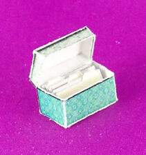Dollhouse Miniature 1:12 Scale Recipe Card Box with Dividers/Recipes