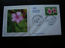 FRANCE - enveloppe 1er jour 25/3//2000 (pervenche de madagascar) (cy44) french
