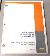 Case CX130 Excavator Parts Manual Catalog 7-6580 2000