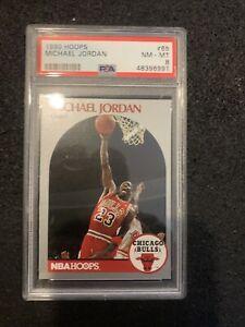 1990 - 1991 Hoops MICHAEL JORDAN PSA 8 - 🔥🔥
