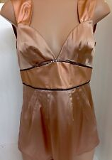 Dolce Gabbana Camisole Copper Satin Stretchy Size 6