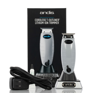 Andis 74000 Professional Cordless T-Outliner Beard/Hair Trimmer US