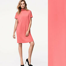 Wolford Fine Merino Dress / Kleid - S - mid coral  ... Fully fashioned