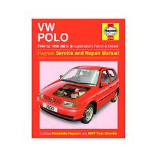 VW Polo 1.0 1.05 1.3 1.4 1.6 Petrol 1.7 1.9 Dsl 94-99 (M to S Reg) Haynes Manul