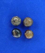 4 ROUND LLAMA BEZOAR STONES 10 grams Guaranteed Authentic Talisman Pearls C475