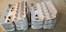 LOT of 90 EMPTY PULP 12 EGG CARTONS - CLEAN CARTONS - GREAT FOR CRAFTING