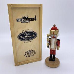 STEINBACH Germany M.J. Hummel Limited Edition Miniature Nutcracker with Box 4675