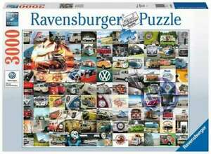 Ravensburger Puzzle 3000pc National Geographic 99 VW Bulli Moments  6018-1