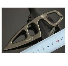 Guardian Knife Titanium blade knife Fixed Blade Knives Outdoor utility EDC Pocke