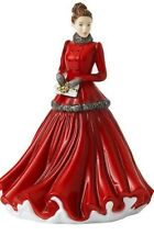 New Royal Doulton Winter Elegance 2020 Christmas Petite Ladies Figurine Hn 5931