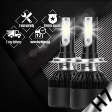 Car COB H7 C6 38800LM 388W LED Headlight Kit Hi/Lo Turbo Light Bulbs 6500K