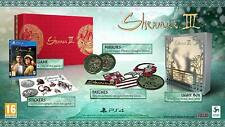 Deep Silver Shenmue III 3 Sony Ps4/PlayStation 4 Collector Edition Game New&Seal
