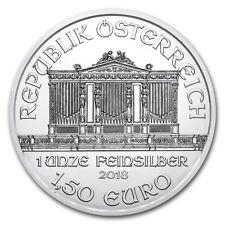 2018 1 oz Austrian Silver Philharmonic Coin