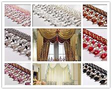 1m New Curtain Sewing Tassel Fringe Fabric Trim Tassel Crystal  Lace Accessory