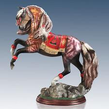 War Bird Spirit of the Painted Pony Horse Figurine Bradford Exchange Native