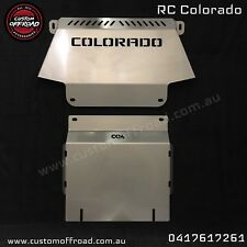RC Colorado 3mm Stainless Steel Front & Sump 2 Piece Bash Plate Set