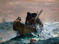WINSLOW HOMER HERRING NET OLD MASTER ART PAINTING PICTURE POSTER ART 3178OMLV