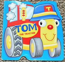 Brown Watson Tom the Tractor Board Book Children Baby Kids Cars Farm transport