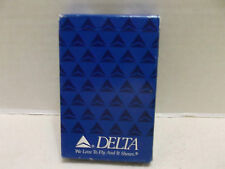 Delta Airlines We Love To Fly And It Shows Single Deck Bridge Size Playing Cards