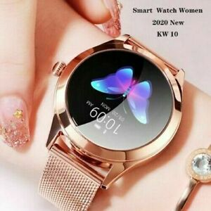 IP68 Waterproof Smart Watch Fitness Heart Rate Bracelet Women Gifts IOS Android