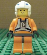 LEGO MINIFIGURE–STAR WARS–DACK RALTER, DK GRAY HIPS (7161)–USED