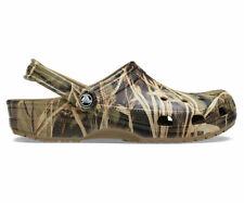 Mens CROCS Realtree V2 Khaki Classic Camouflage Clog 12132-260 Size 13 NWT