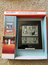 Acurite 661262 Deluxe Wireless Weather Center. Temperature Humidity Clock Time