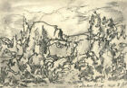 Adrian Hill PROI RBA (1895-1977) - 1975 Charcoal Drawing, Beginning of the End