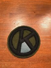 WWI US Army 95th Division,Infantry  patch AEF