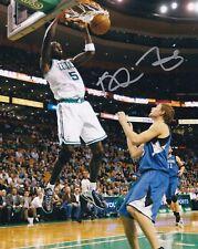 Kevin Garnett Signed 8X10 Photo Autograph Boston Celtics