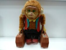 Chimp Porter w Suitcases Acrobat  Yanoman VTG -Walking Monkey, Not Working