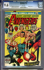 Avengers #117 CGC 9.6 NM+ WHITE Pages Universal CGC #0177775011