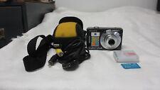 Sony Cyber-shot DSC-W50 6.0MP Digital Camera - Black- CASE AND MEMORY CARD