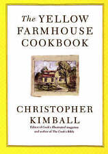 NEW The Yellow Farmhouse Cookbook by Christopher Kimball