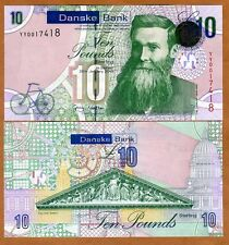 Ireland Northern, Danske Bank, 10 pounds, 2012 (2013), P-212 UNC >  REPLACEMENT