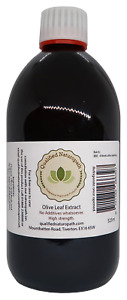 525ml Olive leaf extract made by a fully qualified advanced herbalist