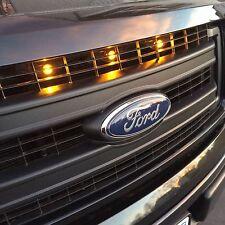 2013-2014 Ford F-150 Raptor Style Grill  Amber Light Kit CgeMotorsports.com
